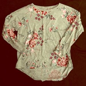 Floral OLD NAVY relaxed shirt